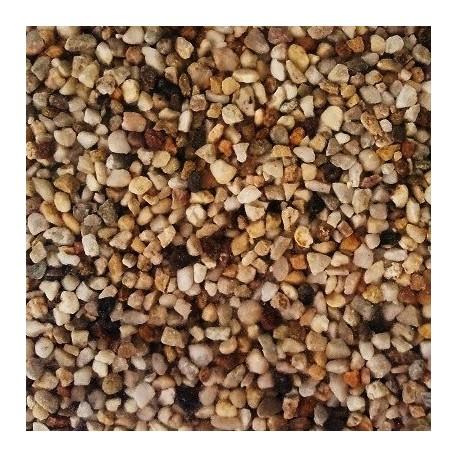 Χαλίκι φυσικό χαλαζιακό σκουρόχρωμο 3.15-5.16mm 5kg