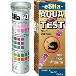 eSHa Aqua Quick test-6 in 1 test strips