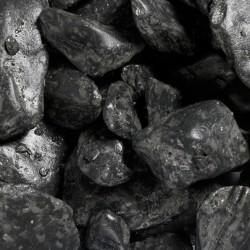 Aqua Della Aquarium gravel pebbles black 2kg