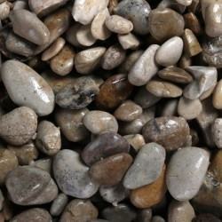 Aqua Della Aquarium gravel british brown 4-8mm-2kg