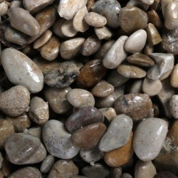 Aqua Della Aquarium gravel british brown 4-8mm-10kg