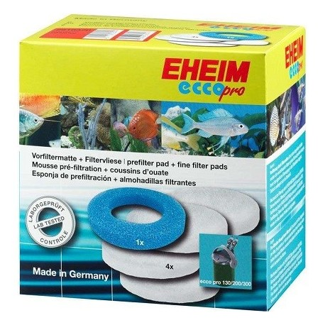 EHEIM 2616320 σετ σφουγγάρι & υαλοβάμβακα για φίλτρα ecco pro 130/200/300