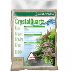 Dennerle Crystal Quartz Gravel Nature White 1-2mm 5kg