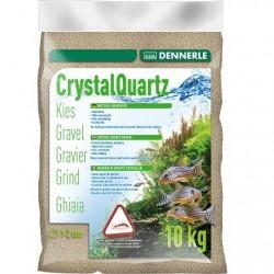 Dennerle Crystal Quartz Gravel Nature White 1-2mm 10kg