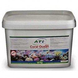 Ati αλάτι Coral Ocean plus 22kg