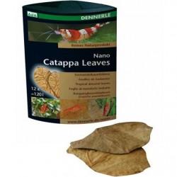 DENNERLE Nano Catappa Leaves 12pc.