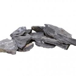 amtra φυσική πέτρα QUARZ SOLID BLACK 300-600g (Διάφορα σχέδια)