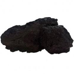 Strideways Φυσική πέτρα λάβας Μαύρη 1kg