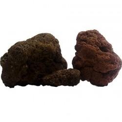 Strideways Φυσική κόκκινη πέτρα λάβας 1kg