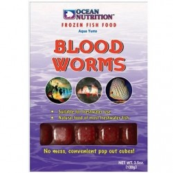 OCEAN NUTRITION BLOODWORMS 100g (Κατεψυγμένη)