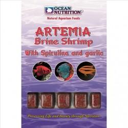 OCEAN NUTRITION ARTEMIA Brine With Spirulina & Garlic 100g (Κατεψυγμένη)