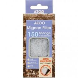 AZOO σφουγγάρι και κασετίνα άνθρακα για MIGNON 150 2 Sets