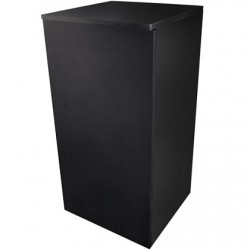 Dupla Cube Stand 80 Μαύρο 45x45x90cm