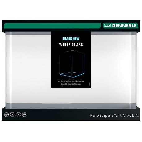 Dennerle Scapers Tank Opti-White 70l 50x39x36cm