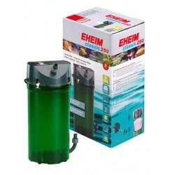 EHEIM classic 250 2213 (πλήρη γκάμα σφουγγαριών-βιολογικού υλικού & διπλές βάνες ασφαλείας)