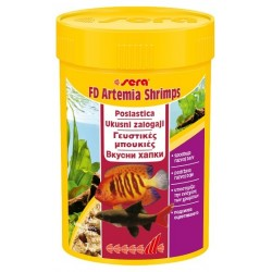 sera FD-Artemia Shrimps 100ml/7g