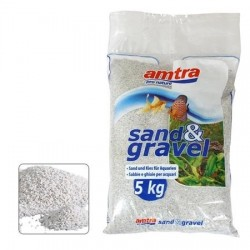 Amtra λευκό χαλαζιακό χαλίκι 1-3mm 5kg