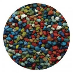 Amtra διακοσμητικό χαλίκι διαφόρων χρωμάτων 2-3mm 1kg