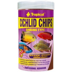 Tropical CICHLID CHIPS 250ml/130gr