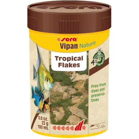 sera Vipan Nature Tropical Flakes 100ml