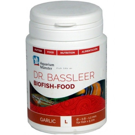 AQUARIUM MUNSTER DR. BASSLEER BIOFISH-FOOD GARLIC L 60g