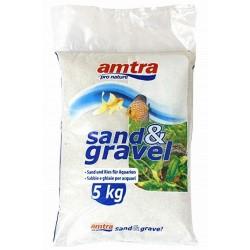 Amtra χαλαζιακό χαλίκι 0.1-0.7mm 5kg (Πούδρα)