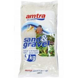 Amtra χαλαζιακό χαλίκι 0.1-0.7mm 2kg (Πούδρα)