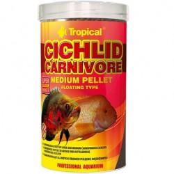 Tropical CICHLID CARNIVORE MEDIUM PELLET 500ml/180g
