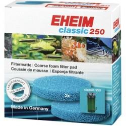EHEIM μπλέ σφουγγάρι για φίλτρο classic 250 (2213) 2τεμ.